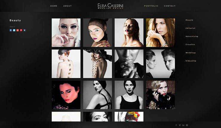 Elisa Caserini Make-Up